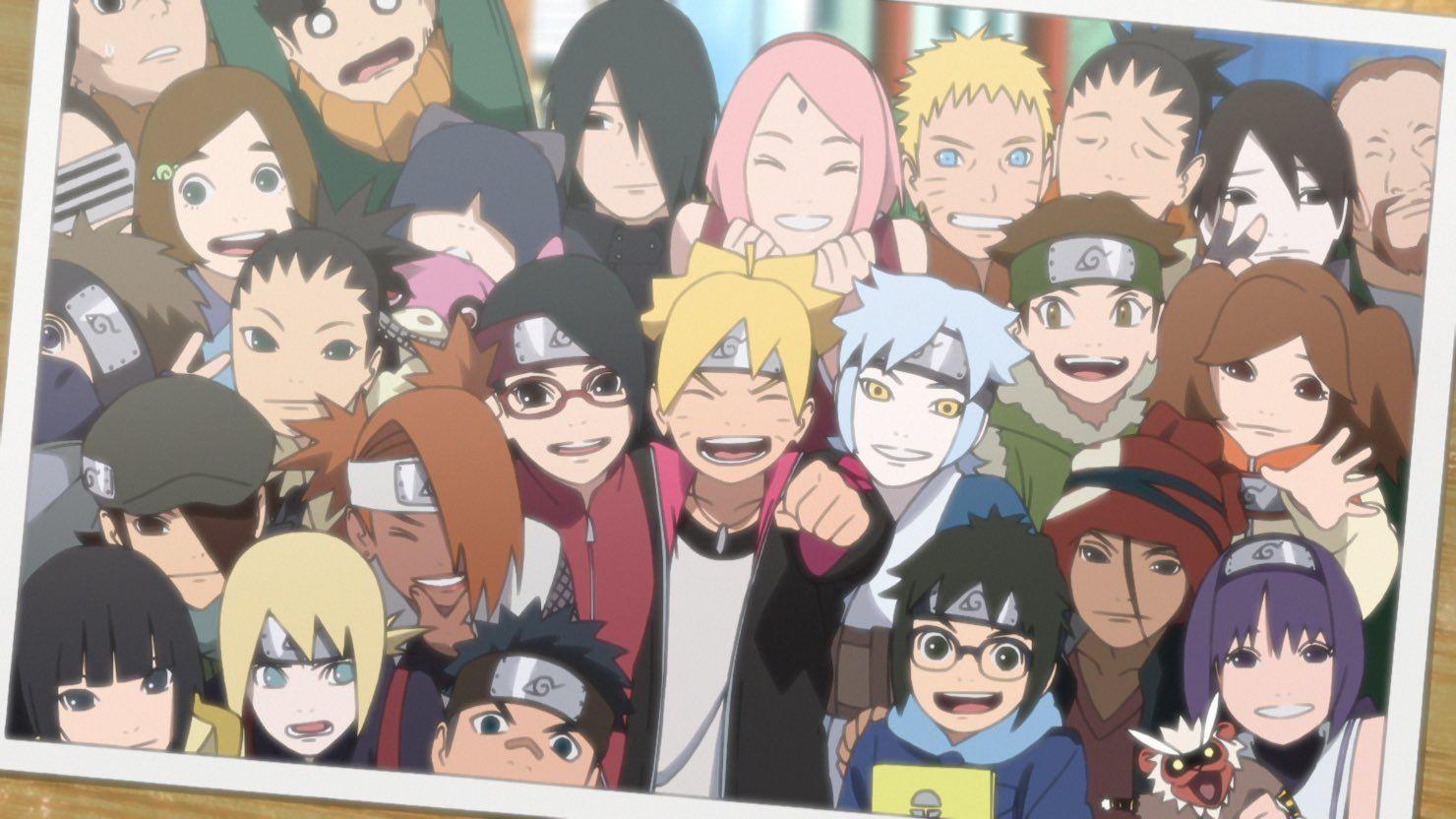 Wallpaper Keren Naruto Dan Boruto In 2020