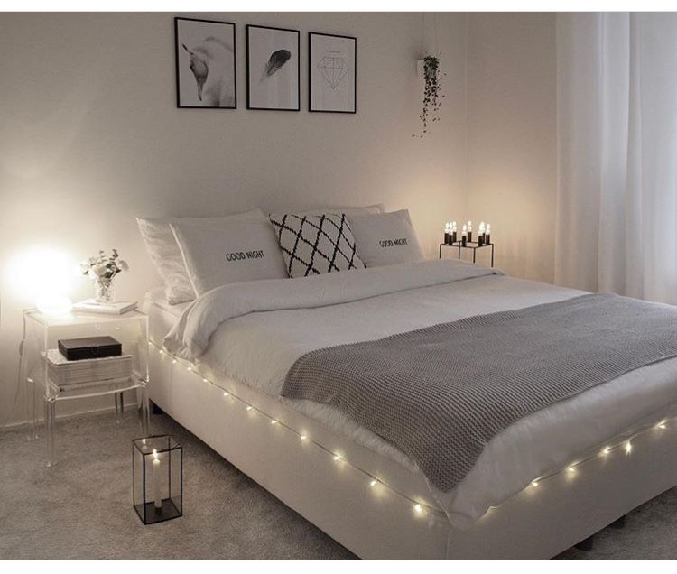 Do you like the light trim around the bed? #youreworthit #bedroominspo