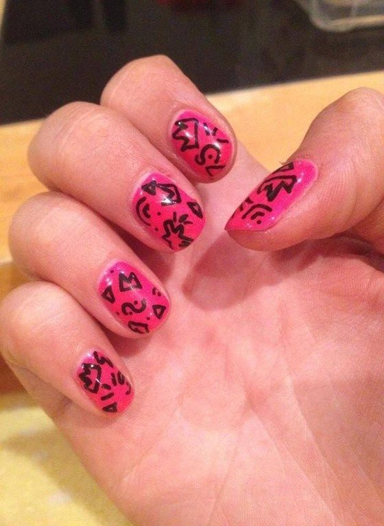 15 Stylish Funky Nail Designs For Girls Nails Arts Design