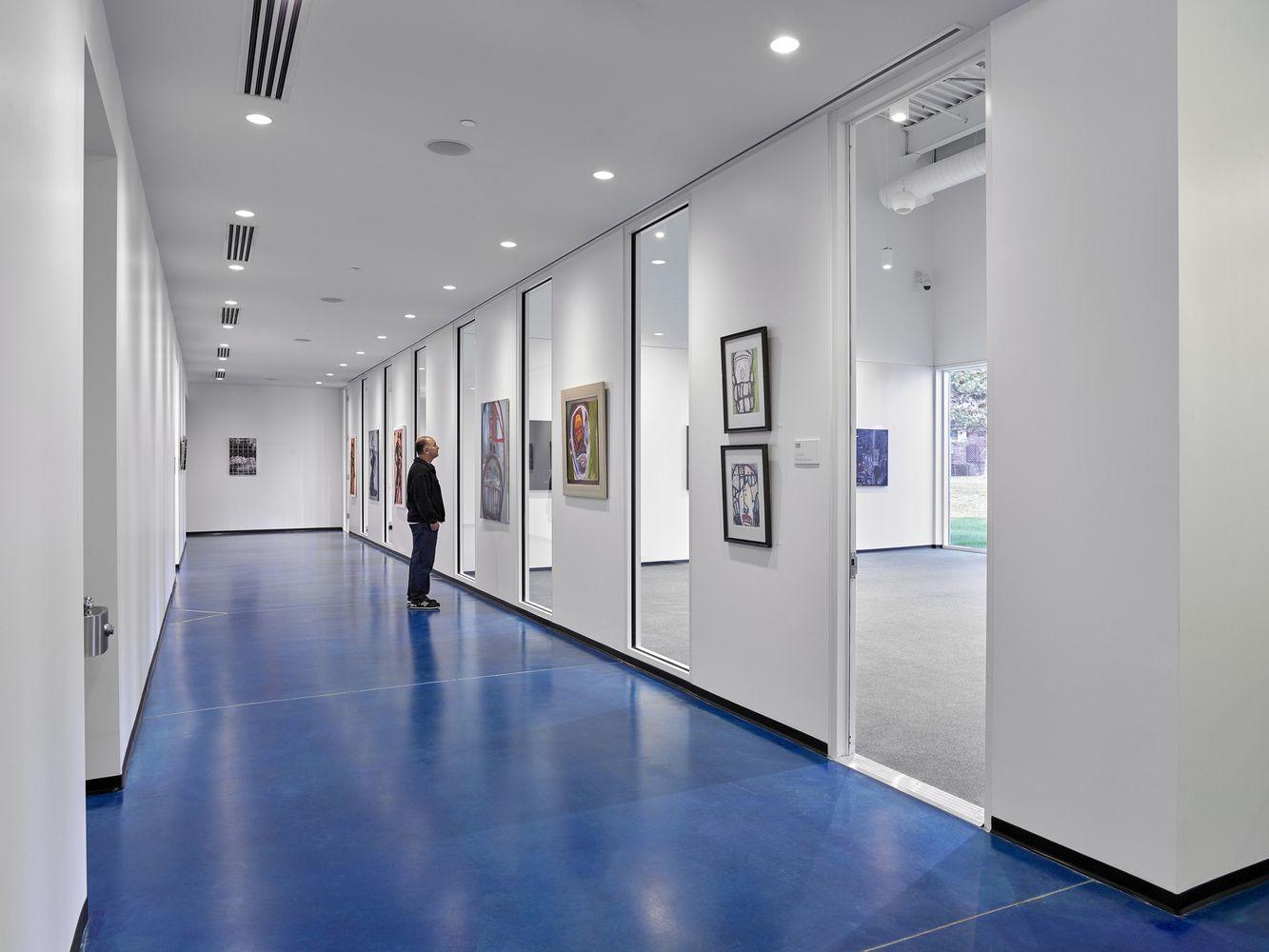 Gallery Of Trec Newark Housing Authority Ikon 5 Architects 8 Corporate Interiors Architect Glass Facades
