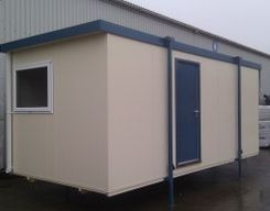 Small Portable Building Perfect For A Site Office