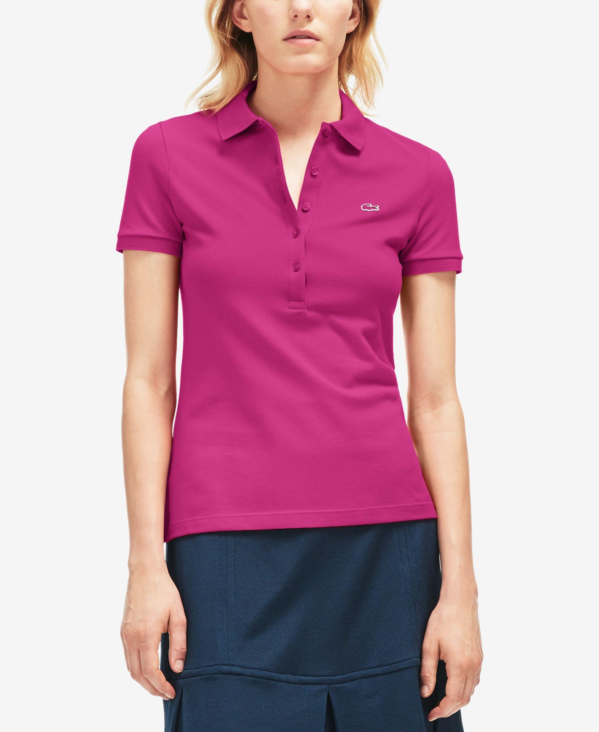 Lacoste Five-Button Slim-Fit Polo