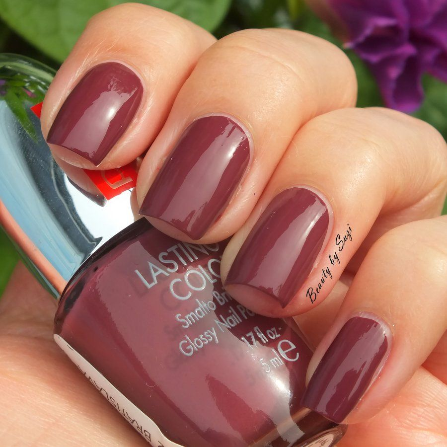 PUPA Lasting Color, 625 Dark Rose #pupamilano #nails | Nails - One ...