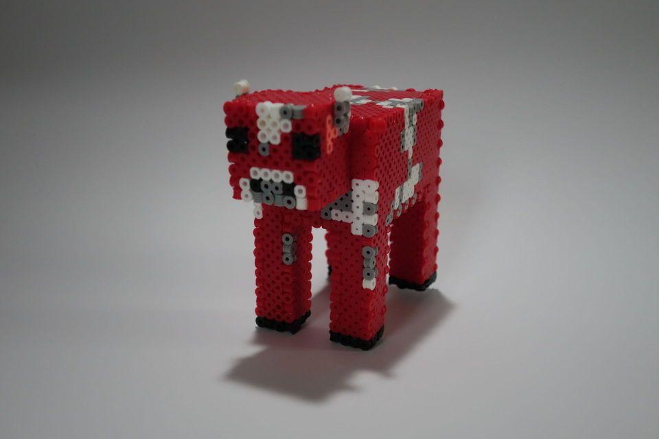 3D Wither and Mooshroom Perler beads | Pinterest | Portfolio und 3d