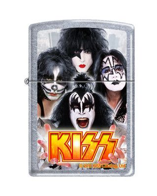 Zippo Lighter - Kiss Street Chrome ZCI006741 - $19.95. Promo: ZIPPO2013 - 3% off all Zippo Products. Free Shipping. No Minimum. 24/7.