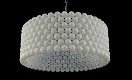 lampe selber bauen aus ping pong bällen | handcrafts // DIY // deco ...