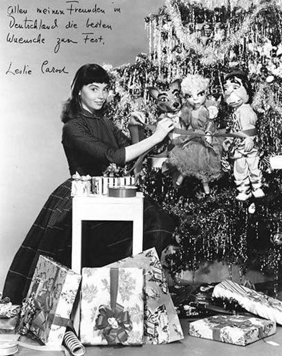 Leslie Caron, 1955