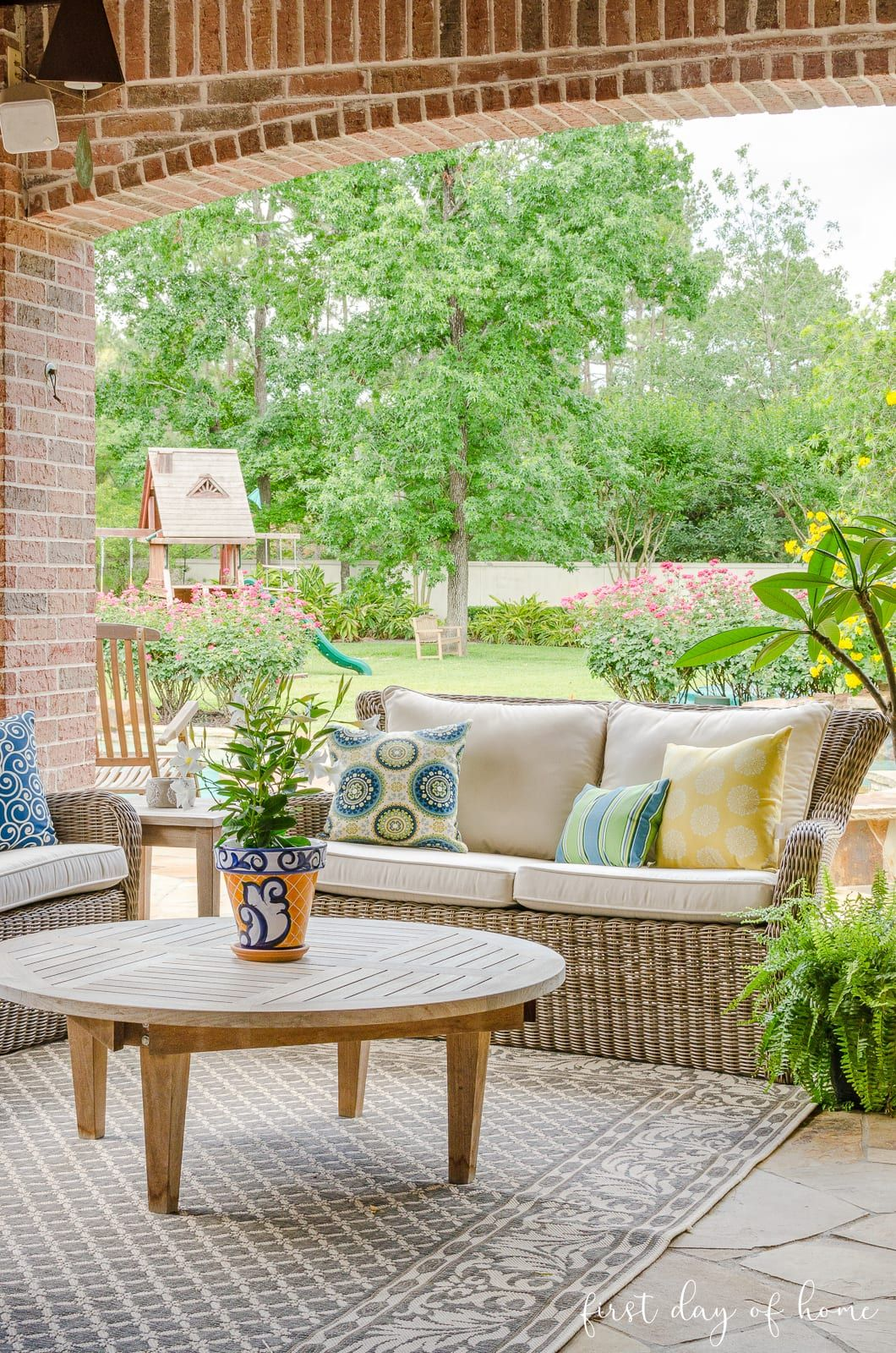 The Best Affordable Ideas For Patio Decor Summer Tour In 2021 Patio Outdoor Living Patio Patio Decor