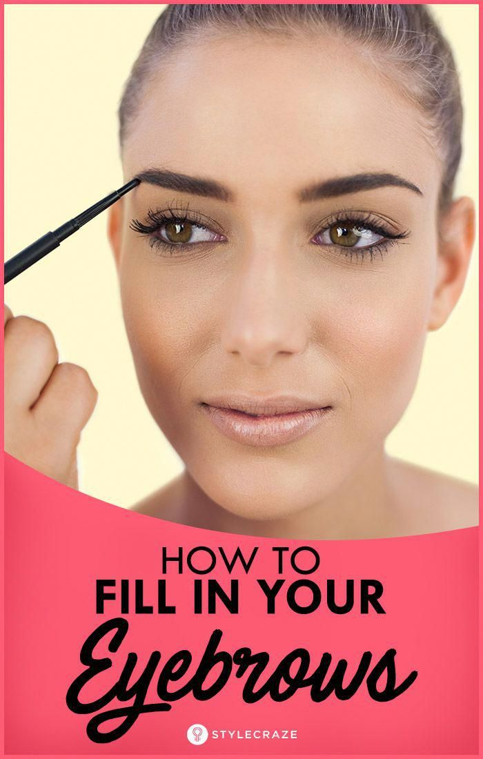 How To Fill In Your Eyebrows And Make Them Look Thicker #perfecteyebrows