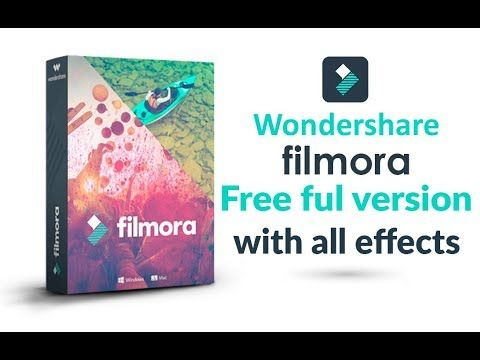 download filmora free latest full version with all effects