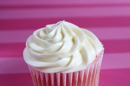 Una fácil y rápida forma de preparar un betún blanco para cubrir pasteles.