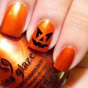 unas uñas guais y divertidas para  haloween