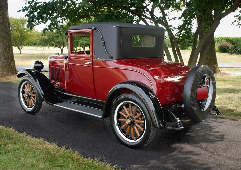 1928 CHEVROLET LANDAU 2 DOOR COUPE - Barrett-Jackson Auction Company ...