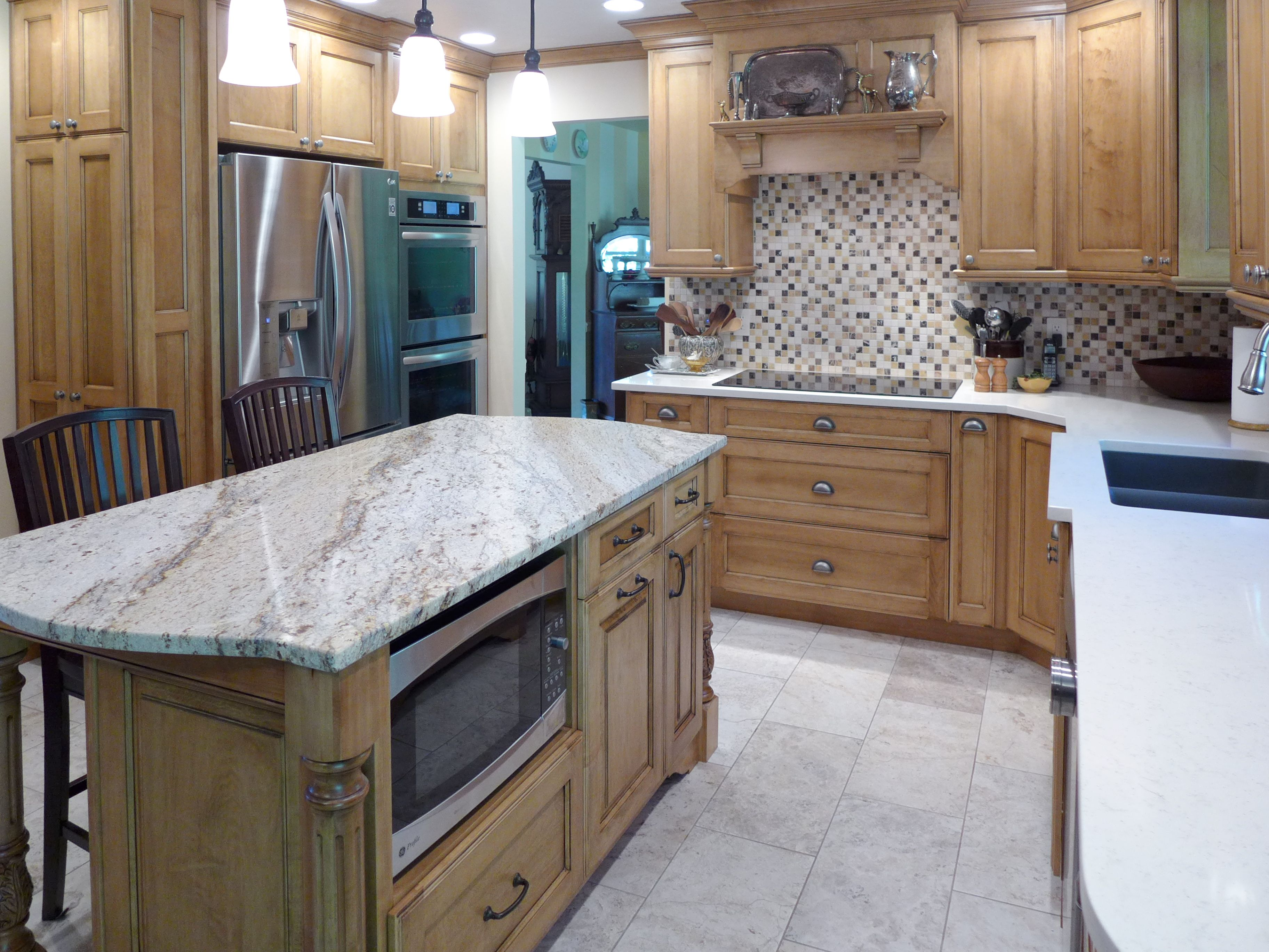 Quartz Kitchen Countertops Cabinet Outlet Remodel Vortium Silestone Countertop With