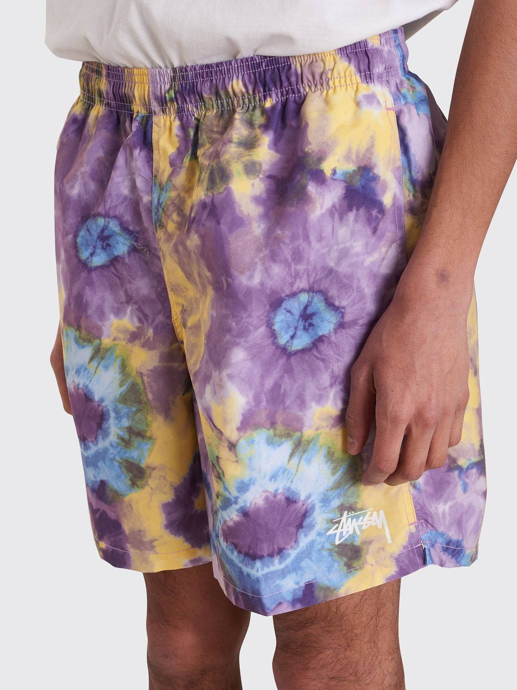 5990ec32bd Stüssy Tie Dye Water Shorts Purple in 2019 | tie dye & washes | Tie ...