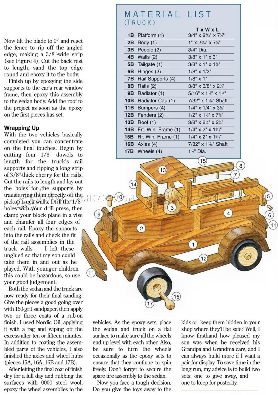 2781 Wooden Toy Car Plans - Wooden Toy Plans | Projects | Pinterest ...