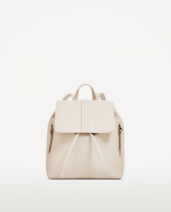 0a71b0fe8 MOCHILA DETALLE 19,95 EUR   Zara   Fashion   Accesories   Backpacks ...