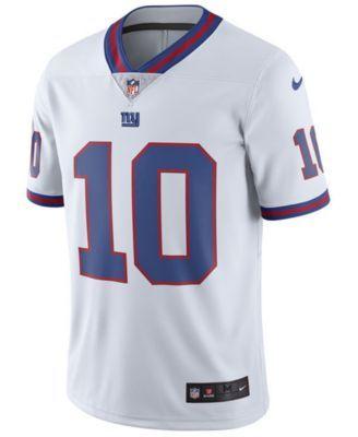 huge selection of 07f8e c7d77 Nike Men's Eli Manning New York Giants Limited Color Rush ...