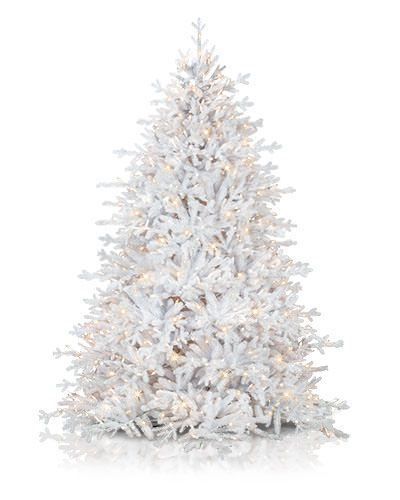 70449b6eb62 Balsam Hill unlit white artificial christmas tree