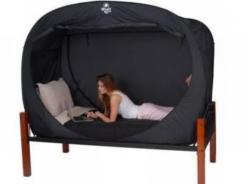 I found u0027Privacy Pop Bed Tent - (Queen Size)u0027 on Wish  sc 1 st  Pinterest & I found u0027Privacy Pop Bed Tent - (Queen Size)u0027 on Wish check it ...