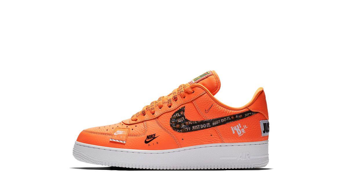 Nike Air Force 1 07 Premium Just Do It Ar7719 800 Nike Air Force Schuhe Nike Air