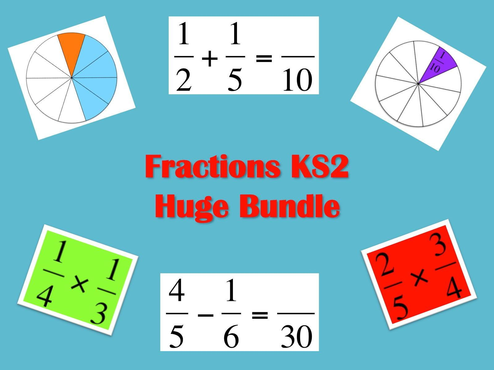 Key Stage 2 Fractions