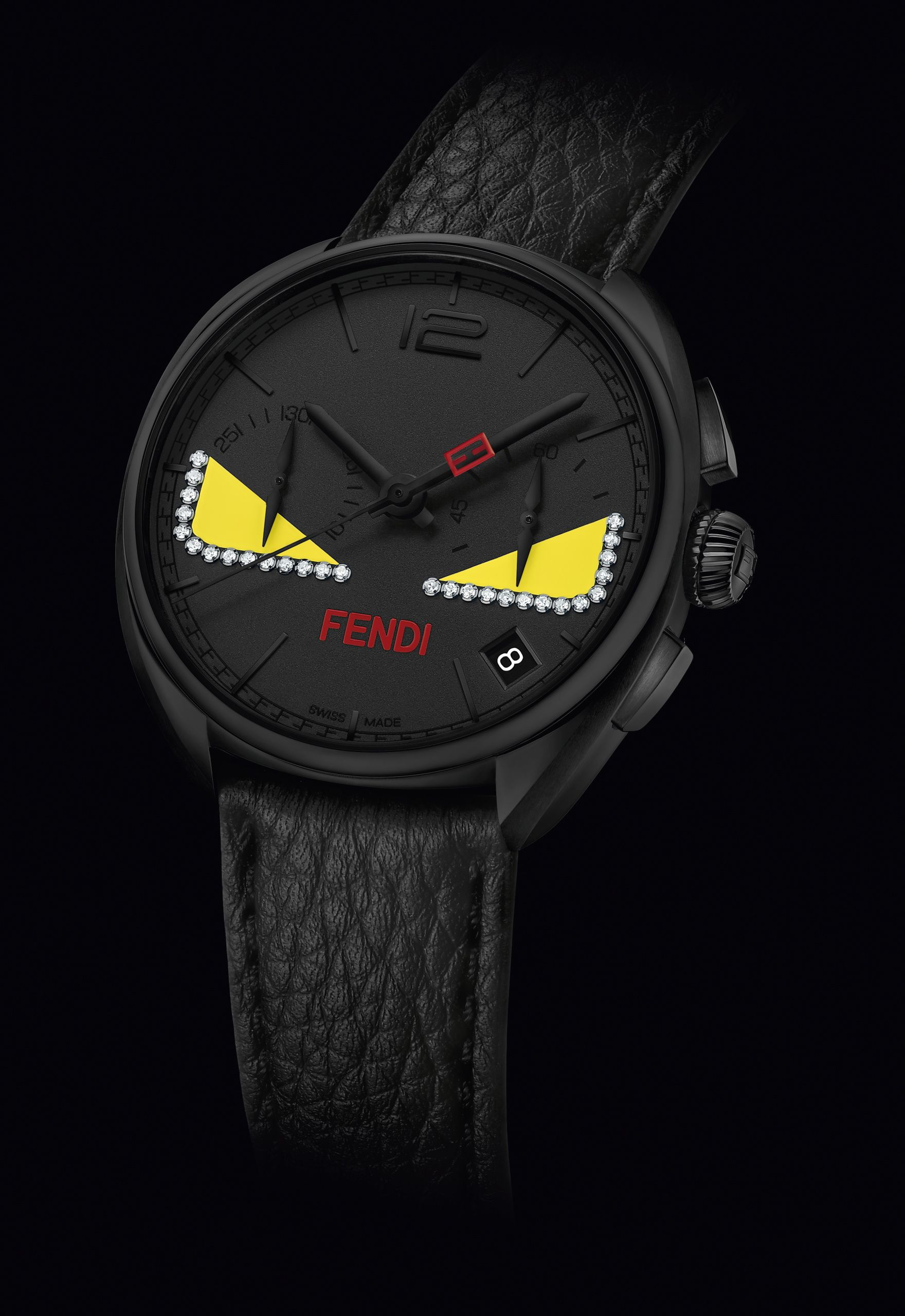 b2c2145ab62d The Fendi Momento Bugs watch which debuted at the Men s Fall Winter 2015-16  runway
