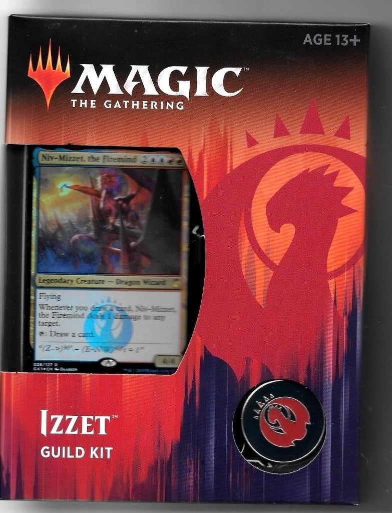 MTG Sealed Booster Packs 19109: Mtg Guilds Of Ravnica Izzet Guild
