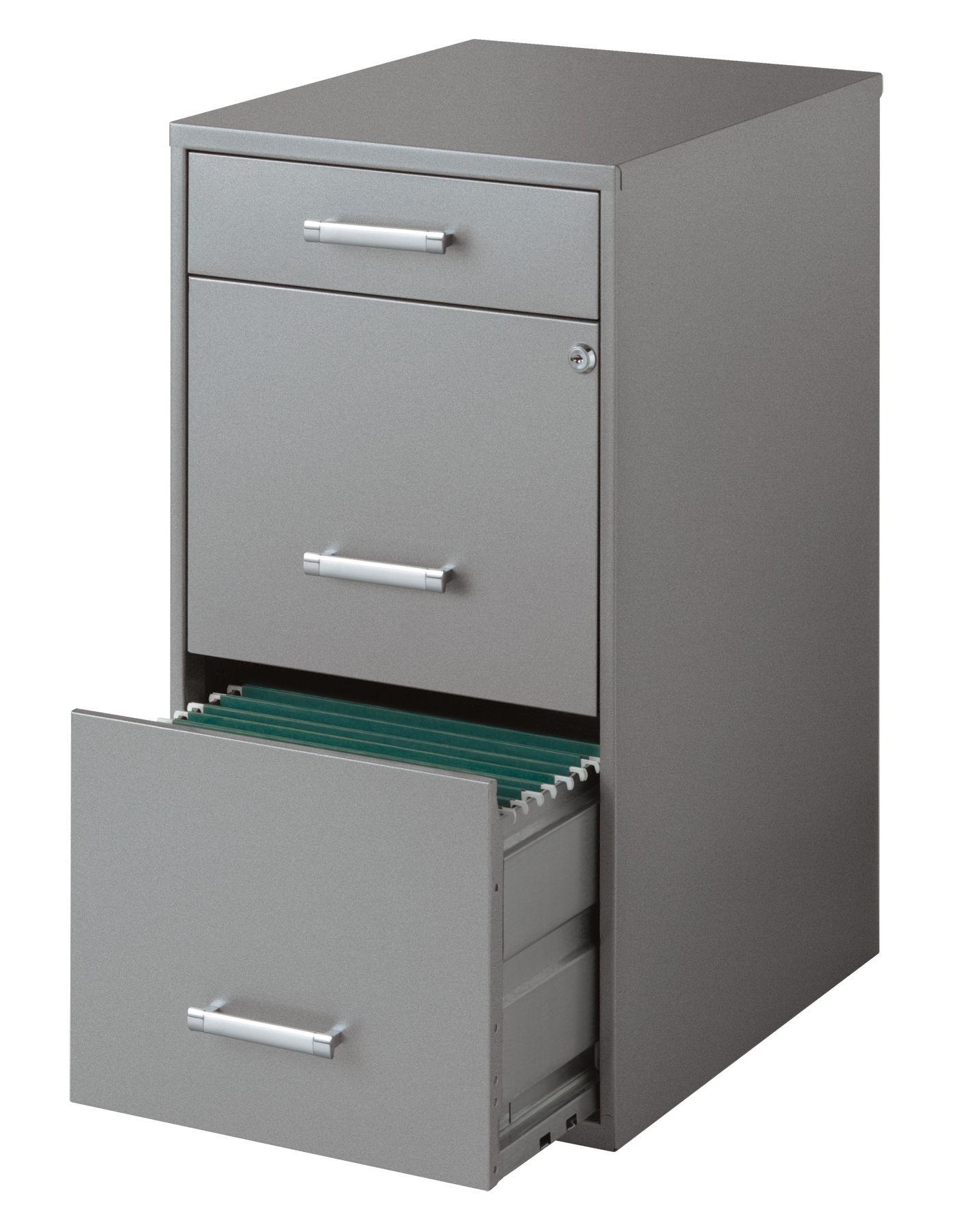 Gentil Hirsh 3 Drawer File Cabinet