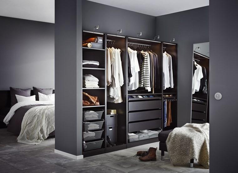 Slaapkamer met kleedkamer en badkamer 50 ontwerpopties