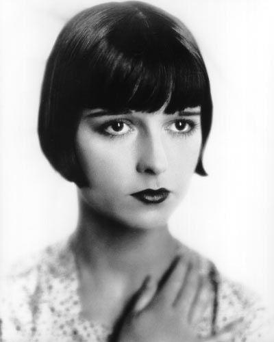 Legendare Stilikonen Bubikopf Louise Brooks Bubikopf Frisur