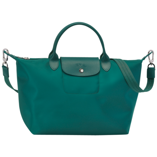 f1ffc8ecd34d Longchamp Le Pliage Néo in Emerald Green (limited edition) ~ i want this  color badly!