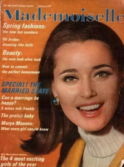 January 1966 cover with Maren Gustafson