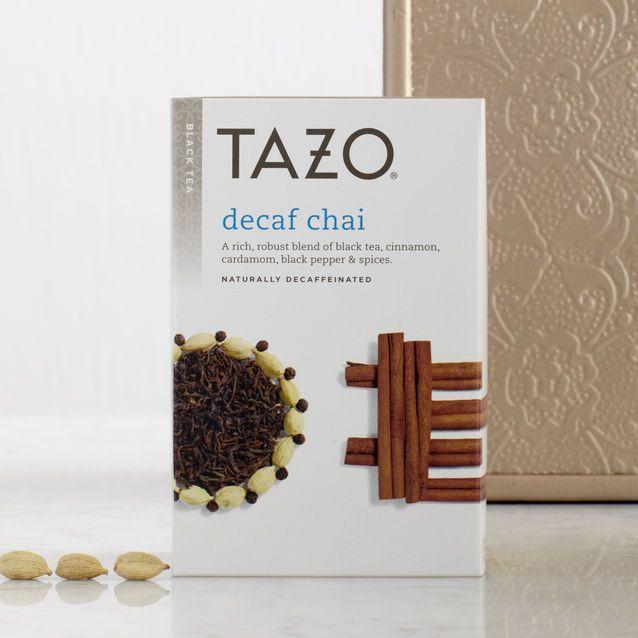 A Rich, Robust Decaf Blend Of Black Tea, Cinnamon