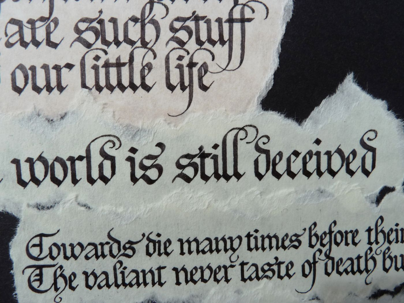 Posts about gothic calligraphy on Wonky Words