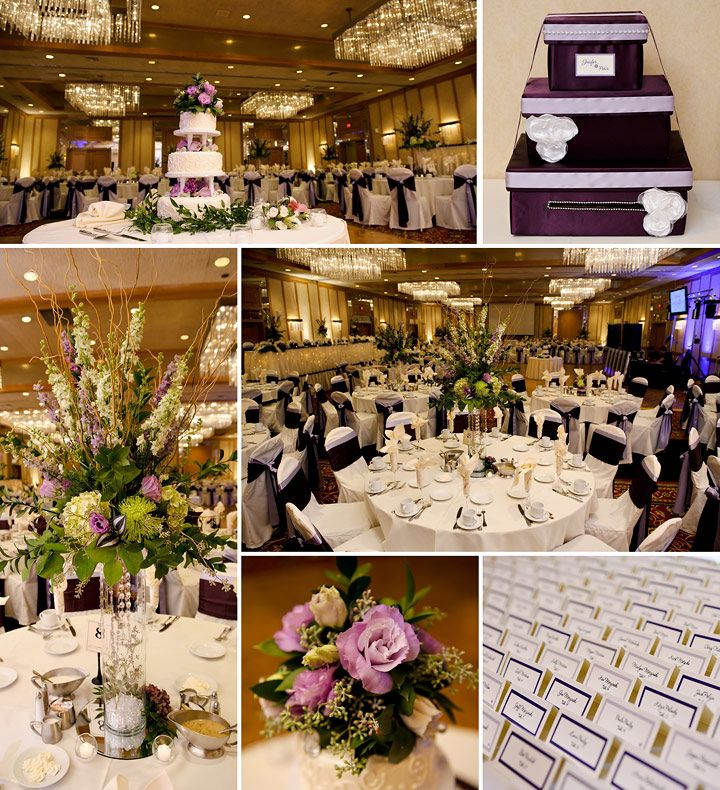 Marriott Hotel Wedding Reception Racine Wi Details And Decor