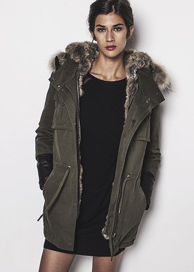 869361ece5 parka femme kaki | Manteau, veste, blouson peu importe. | Parka kaki ...