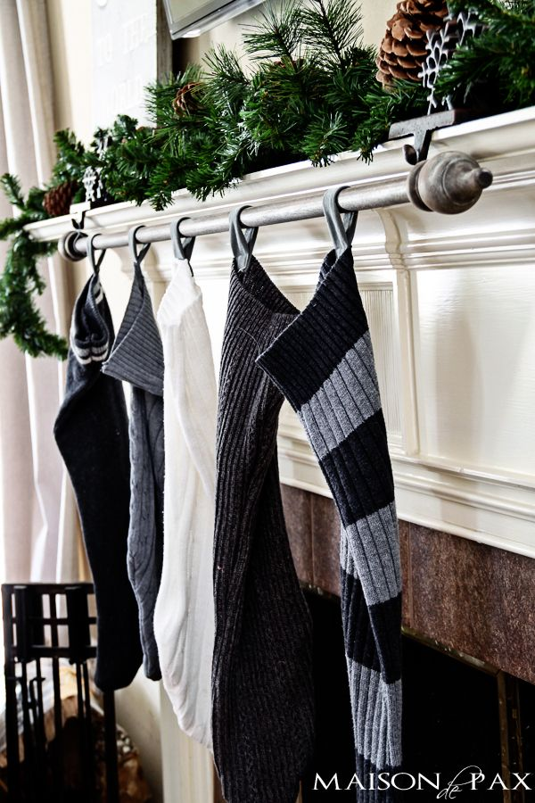 Classy And Affordable Diy Stocking Hanger Christmas Stockings Christmas Stocking Holders Hanging Christmas