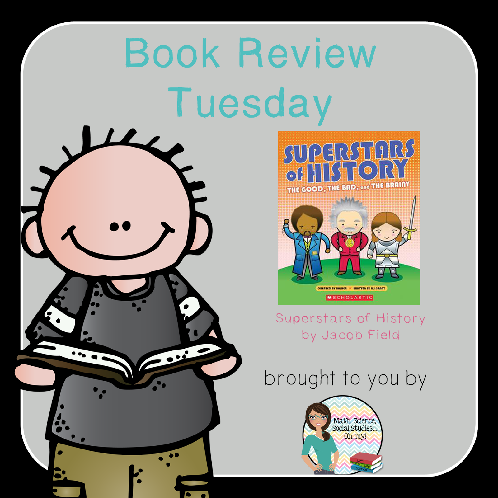 Book Review Tuesday Superstars Of History
