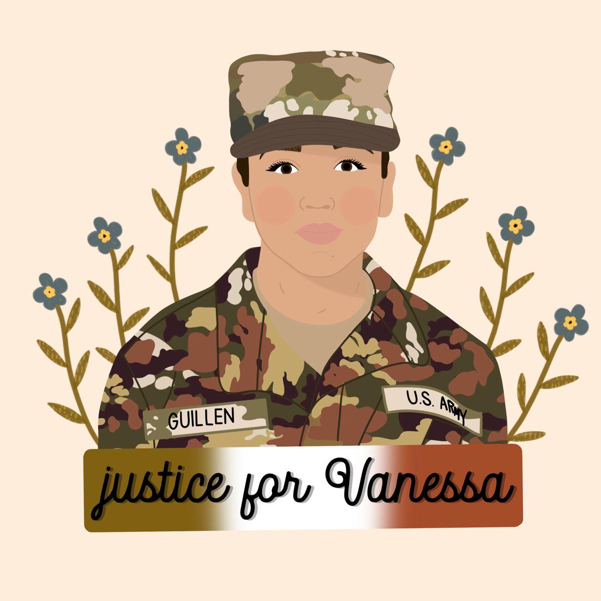 Justice For Vanessa Guillen First World Lives Matter Art Painting