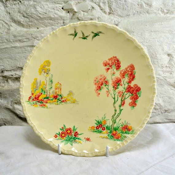 Grindley England Ceramic Plate, Decorative Plate or Wall Plate of ...