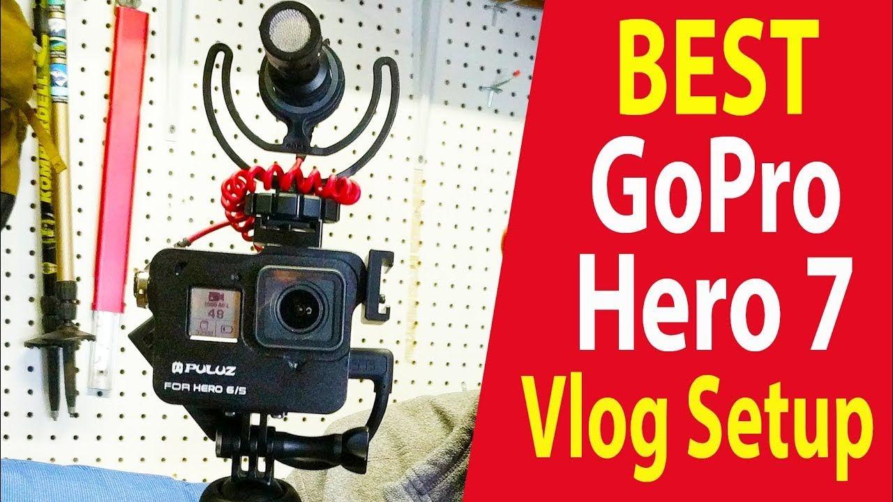 Best Gopro Hero 7 Vlog Setup Gopro hero, Gopro