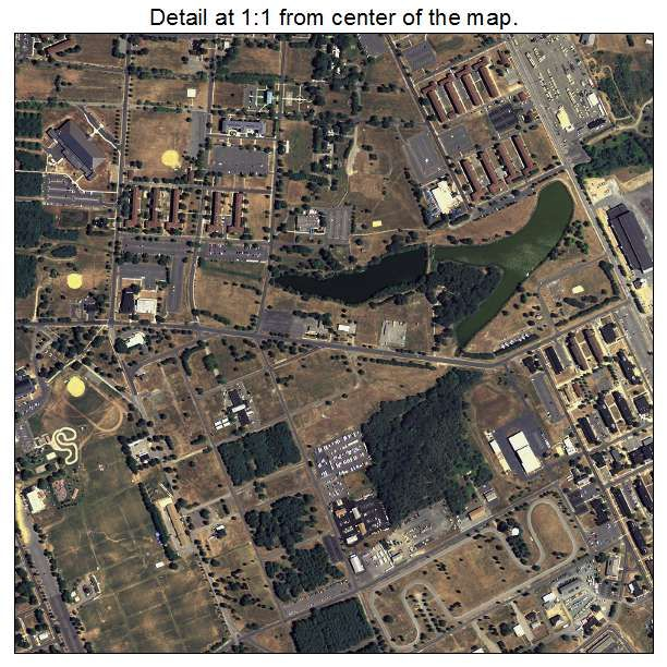 Fort Dix, New Jersey Aerial Imagery Detail