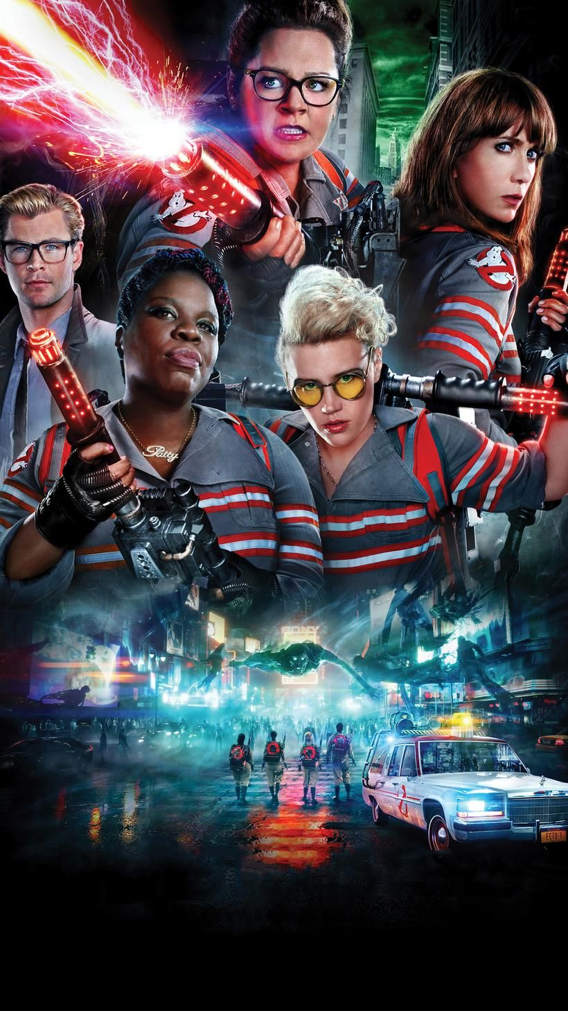 Ghostbusters 2016 Phone Wallpaper Moviemania Ghostbusters Movie Ghostbusters Ghostbusters 2016