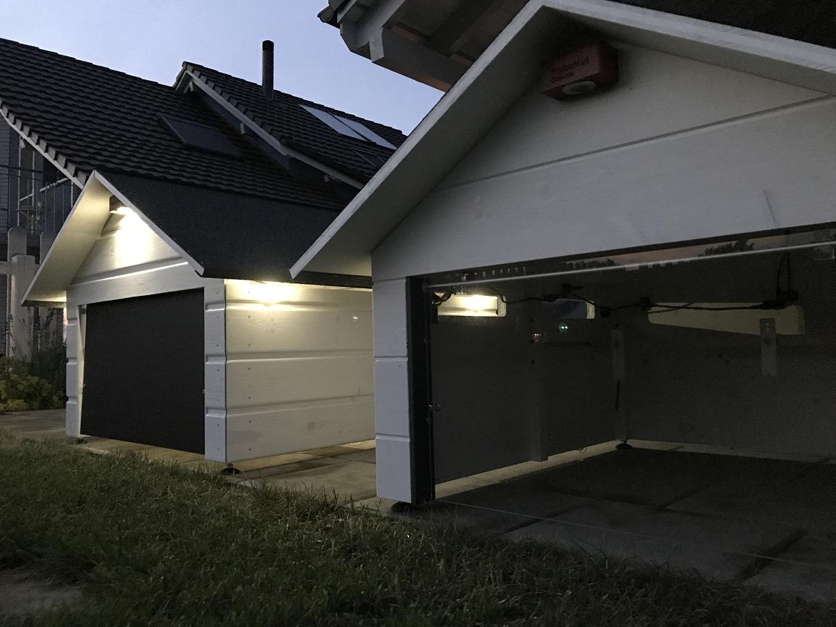 m hroboter garage mit oder ohne solar led deine entscheidung robotic lawn mower garage. Black Bedroom Furniture Sets. Home Design Ideas