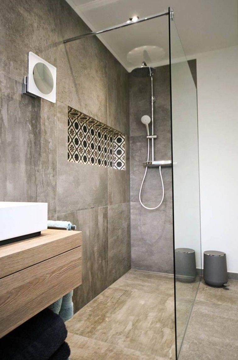Bathroom Floor With Design Bathroom Floor With Design Bathroom Floor With Design The Architecture Abrupt For The Ba In 2020 Glastrennwand Duscharmatur Walk In Dusche