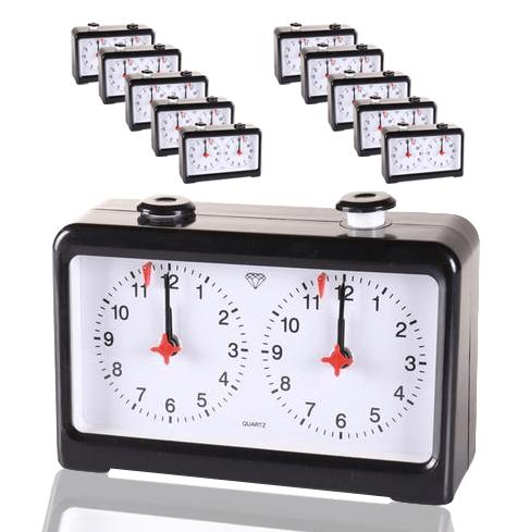 10 Standard Chess Clocks Up To 20 Players Clock Quartz Clock Analog Clock