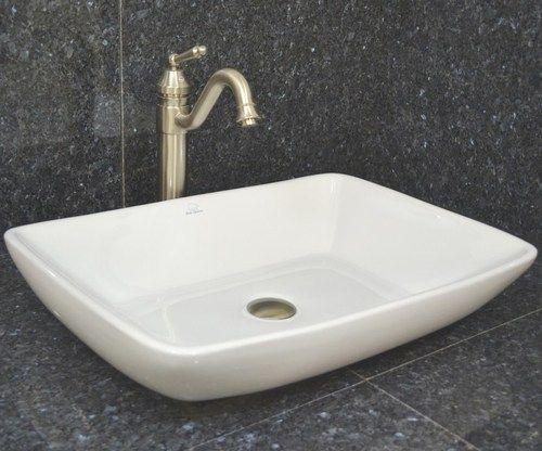 vessel sink porcelain bear low profile rectangle | ebay