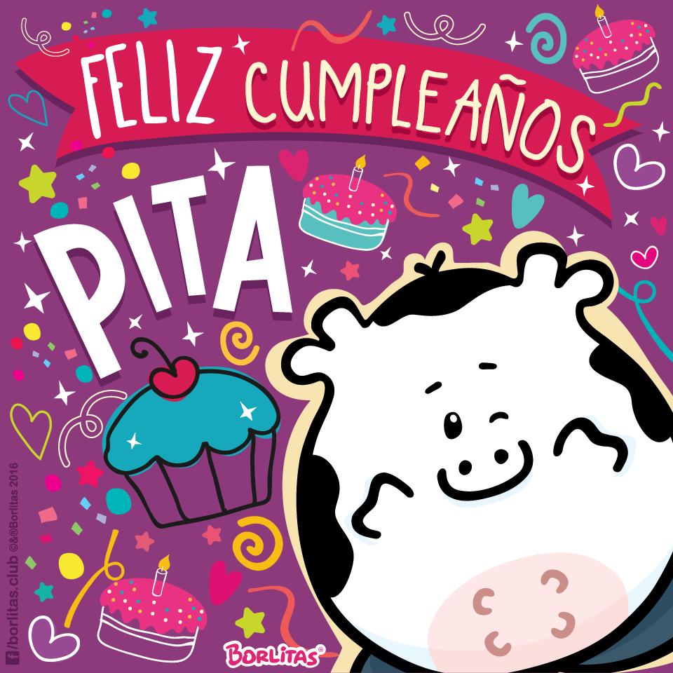 #Felizcumpleaños #Cumpledepita #Borlitas