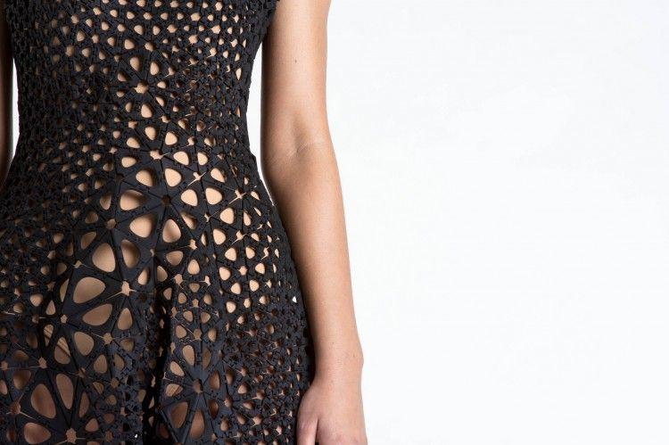 Da #NervousSystem arriva il primo #abito #cinematico   #kinematics #dress #3dprinting #innovation #fashion #moda